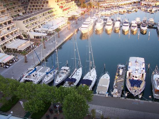 Mercure La Grande Motte Port : view from room 906