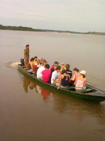Amazon River: Amazon local transport
