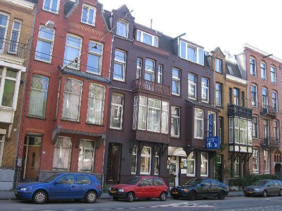 Hotel From Outside Picture Of Hotel Wilhelmina Amsterdam
