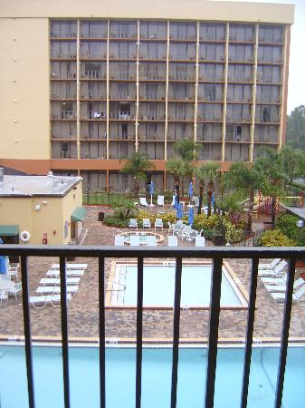 Holiday Inn Orlando SW - Celebration Area: View of Pool from Room