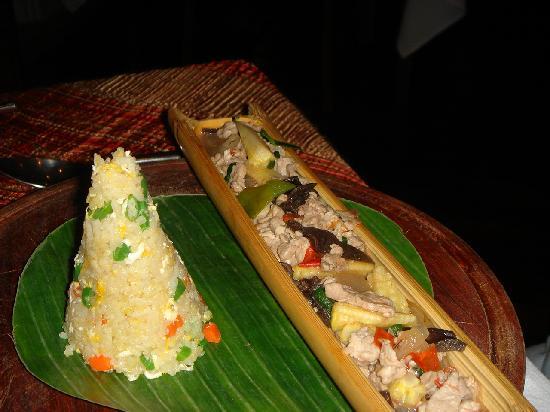 Belmond La Residence Phou Vao: diner resto