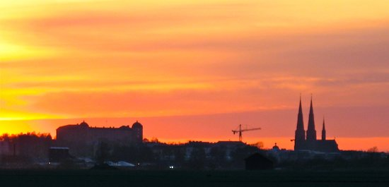 Uppsala, Sweden: Uppsla skyline