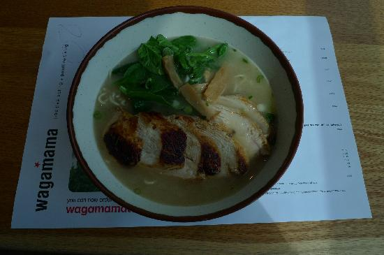 Wagamama - Royal Festival Hall : Please don't order this