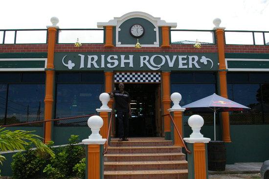 The Irish Rover Pub: Front of Irish Rover