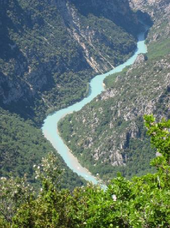 Provence, Frankrike: le gole du verdon