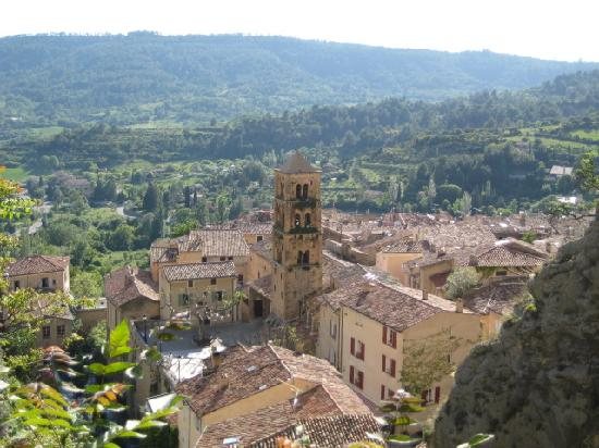 Provence, Frankrike: Moustiers Ste Marie