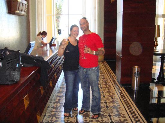 Iberostar Grand Hotel Rose Hall : Welcome!