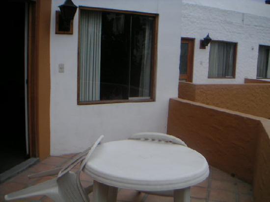 La Maison d' Elise: Terrasse privée