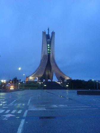Algiers, Algeria: Monument