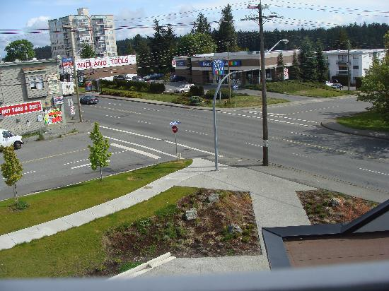 Ramada Nanaimo: The view from our room.
