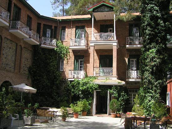 New Helvetia: The hotel
