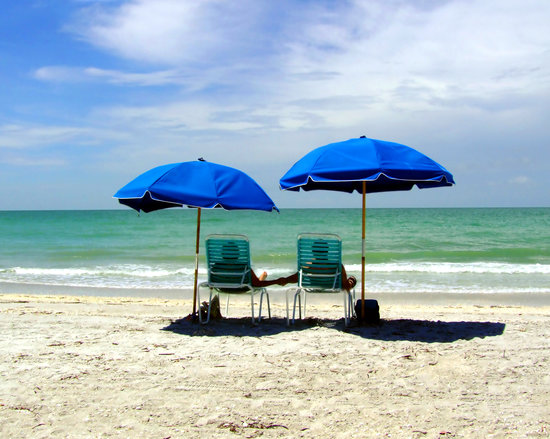 Isla de Sanibel, FL: Relaxing Day At The beach