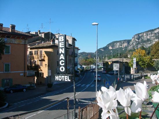 Hotel Benaco: View from Balcony