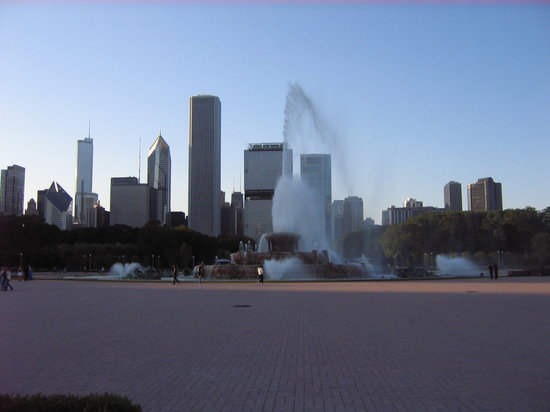 ‪شيكاغو, إلينوي: Buckingham Fountain‬