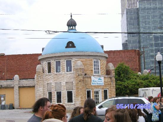 Tulsa, OK: Blue Dome