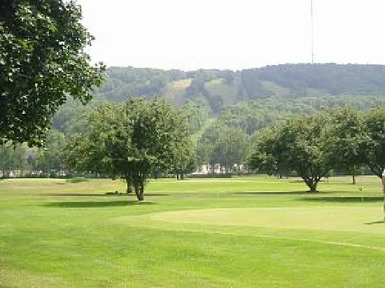 Wausau, WI: From Rib Mountain Golf Course, Rib Mountain