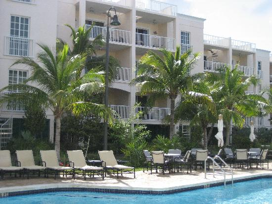 Key West Marriott Beachside Hotel: View of our terrace
