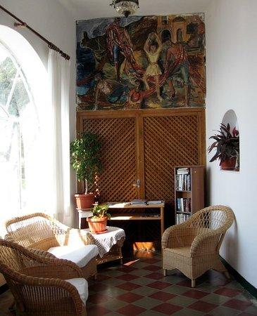 Pensione Maria Luisa - Amalfi Coast: book nook