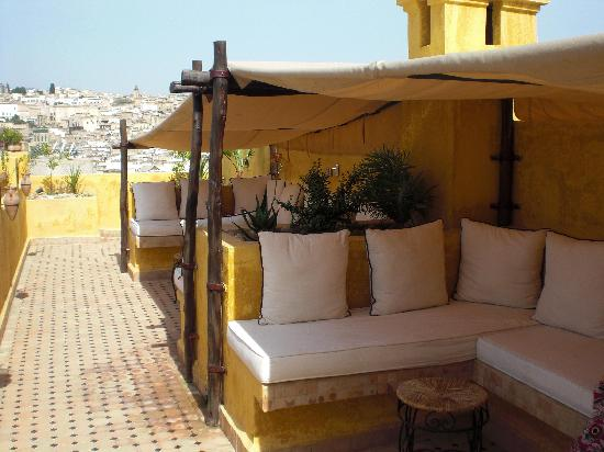 Riad Le Calife: RELAXING TERRACE