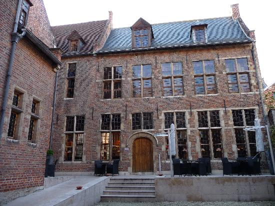 Martin's Klooster Hotel: My room has the row of windows above the ground floor
