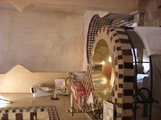 Hotel Dar Zitoune: Salle de douche