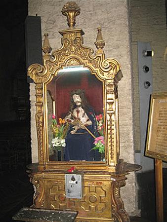 Interior of San Francisco Church, Santiago, Chile