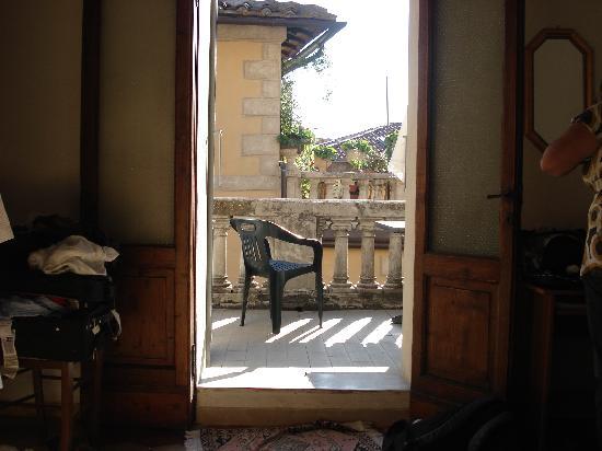 La Casa di Antonella: View from our room onto the patio