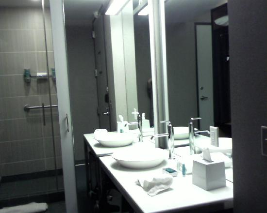 Bathroom Sinks San Antonio bathroom sink and vanity - picture of aloft san antonio airport