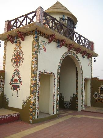 Enterance of Chokhi Dhani