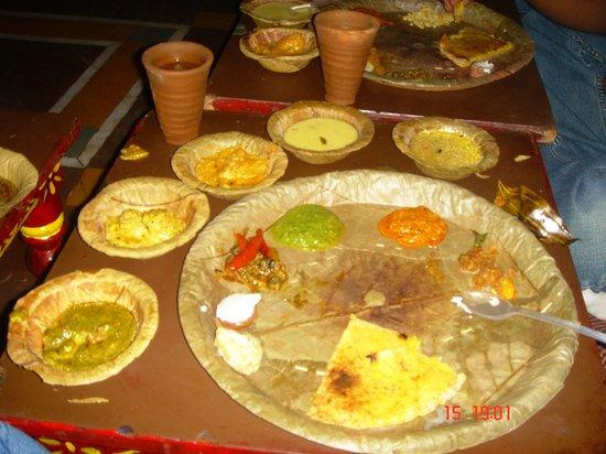 Chokhi Dhani: Rajeshtan Foods
