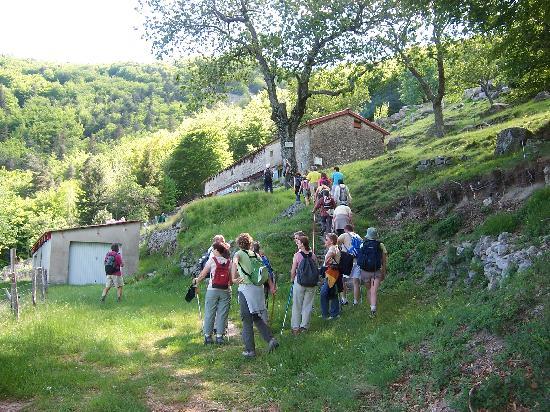Antraigues-sur-Volane, France : Un jour de randonnée