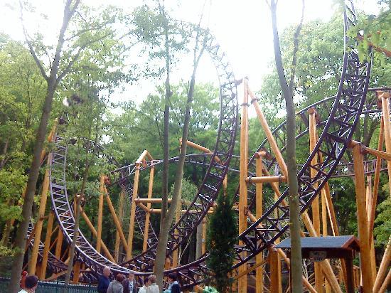 Duinrell Amusement Park: The Loop on Falcon