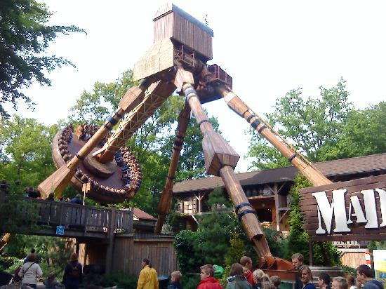 Duinrell Amusement Park: Mad Mill