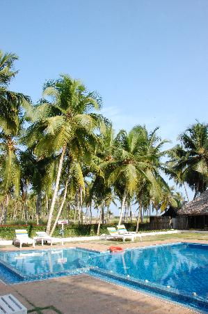 The Travancore Heritage Beach Resort: one of the pools