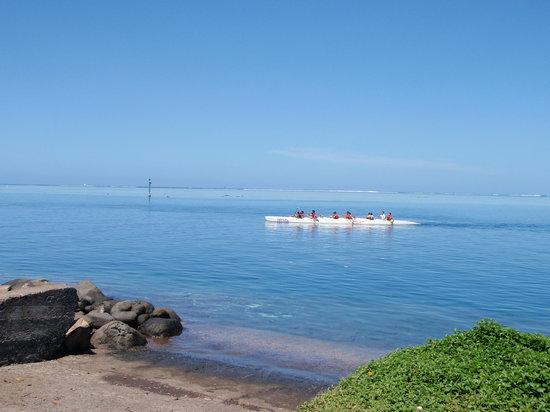 Tahiti, Fransk Polynesien: Rowers