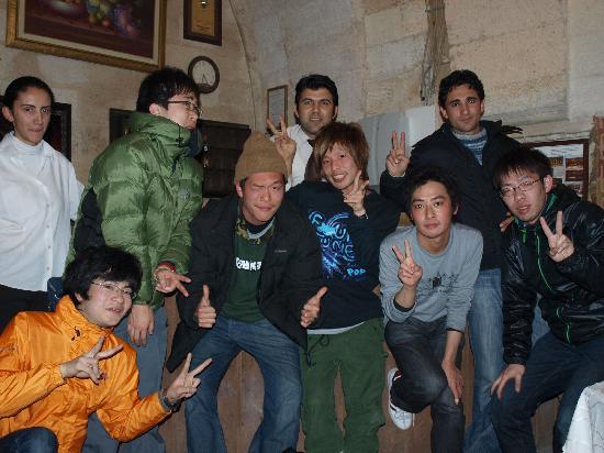 Hotel Cappadocia Palace: CAPPADOCIA PALACE HOTEL で出会った人達☆