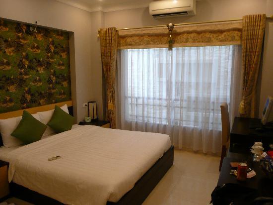 Hanoi City Palace Hotel : デラックスルーム