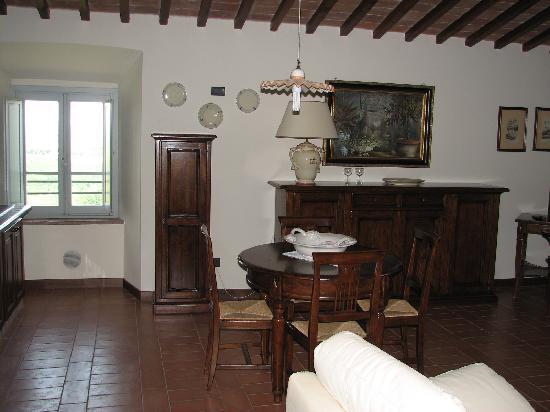 Castello di Fulignano: Our apartment