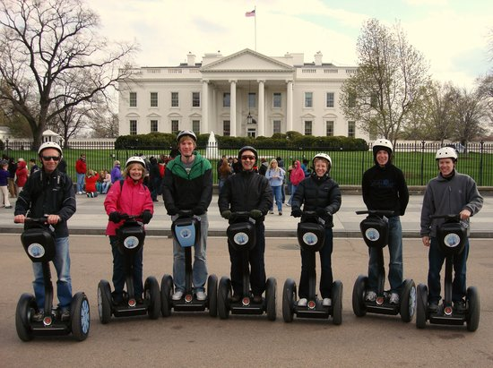 City Segway Tours DC: Segways at the White House