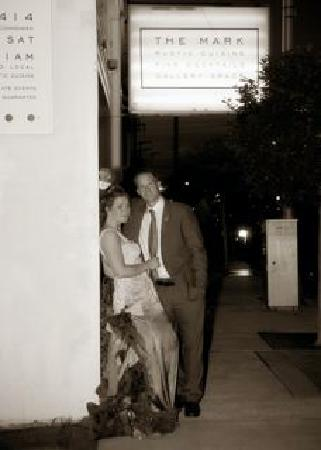 The Mark: Our wedding photo!