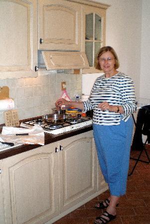 Agriturismo Casale degli Olmi : Our Kitchen at Casale degli Olmi