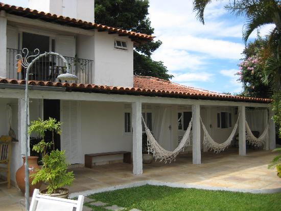 Abracadabra Pousada: These 3 room have their own hammocks