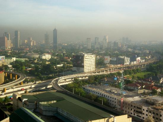 Pasig, Filipinas: The view in the morning