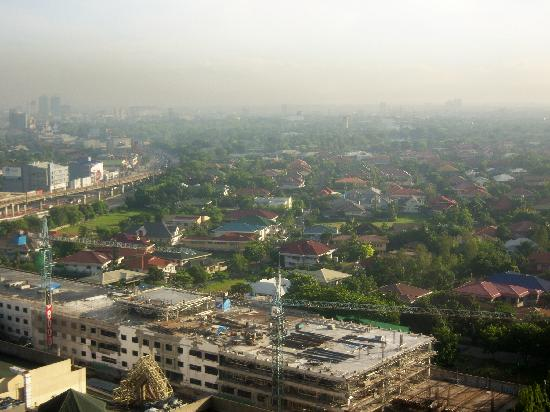Pasig, Filipina: The view in the morning