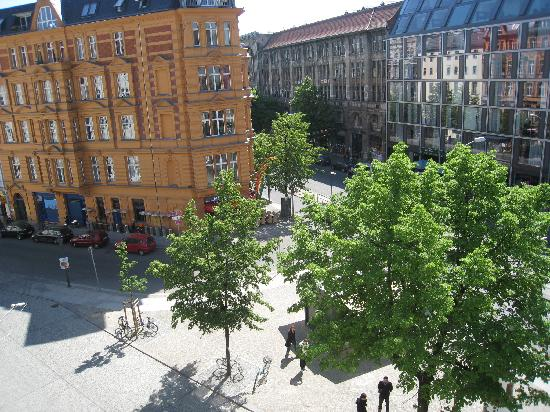 Hotel Berlin Märkischer Hof am Tacheles: the view