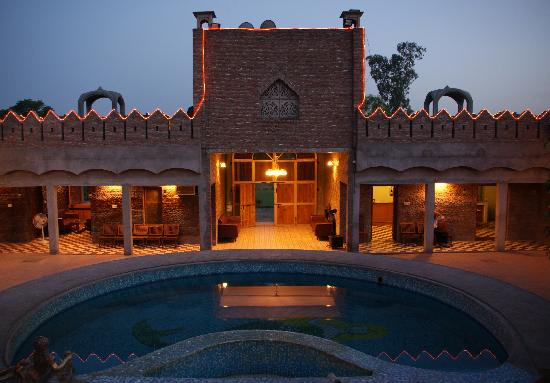 Virasat Haveli: Captured during the blue hour