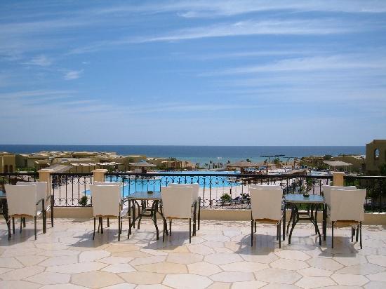 Three Corners Fayrouz Plaza Beach Resort : la balconata panoramica.