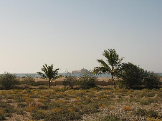 Барка, Оман: vue sur la mer de notre chambre