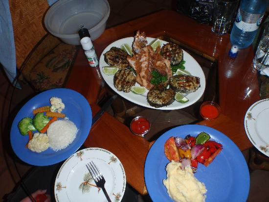 Chabil Mar: Fish we caught, kitchen prepared