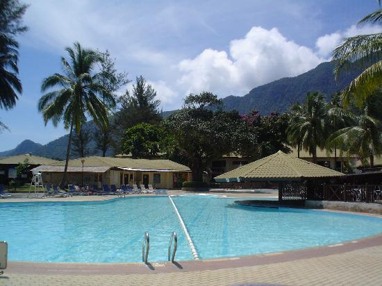 Damai Beach Resort Main Pool Beside Restaurant